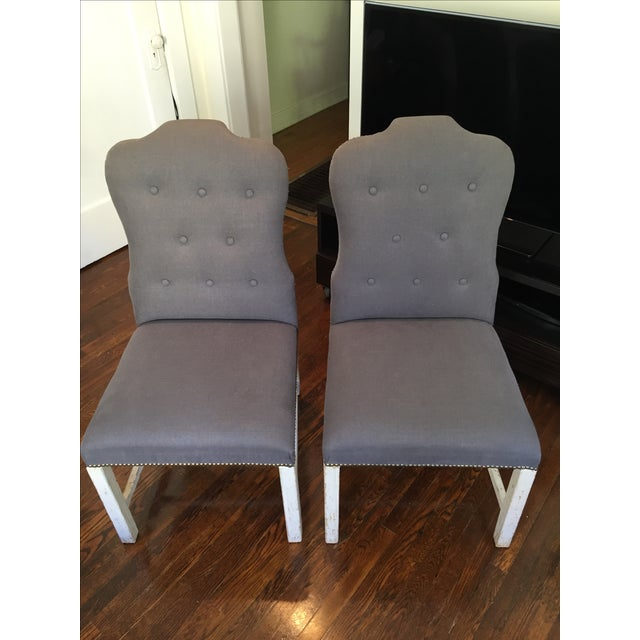 Bunny Williams Designer Jack Dining Chairs - Pair - Image 2 of 6