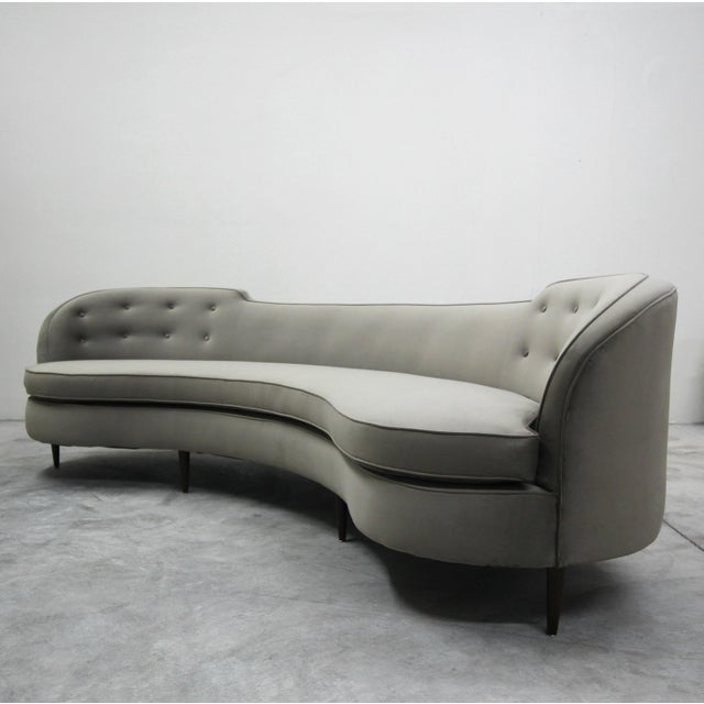 Brown Mint Mid Century Oasis Sofa by Edward Wormley for Dunbar For Sale - Image 8 of 8