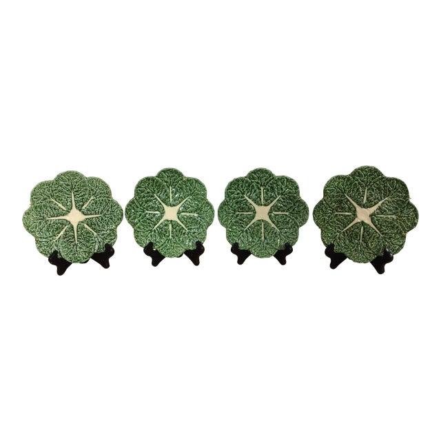 Vintage Portugese Cabbage Plates - Set of 4 - Image 1 of 4