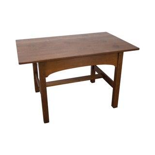 L & JG Stickley Antique Mission Oak Library Table For Sale