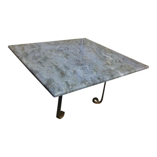 Blue Brazilian Quartzite Coffee Table For Sale