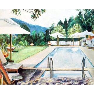 "Sophie Hoad Halma ""Calistoga"" Fine Art Print For Sale"