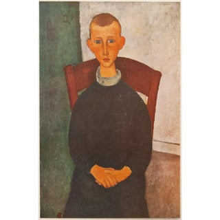 1940s Amedeo Modigliani, Le Gosse Du Concierge Lithograph For Sale