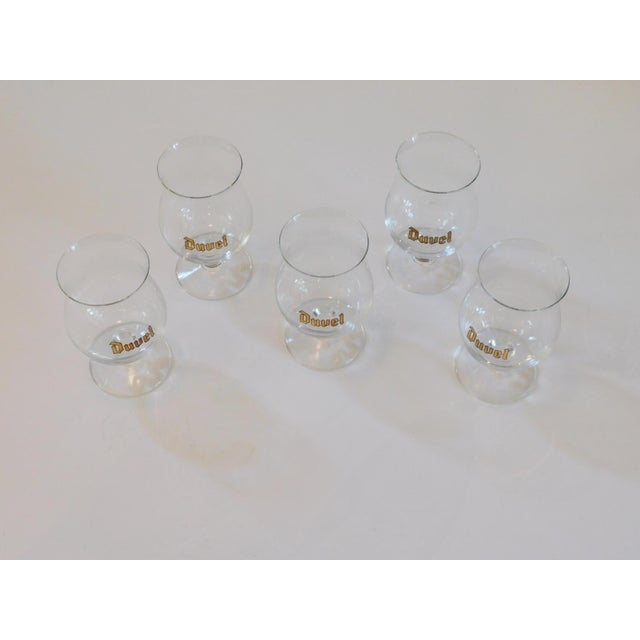 This sweet collector set of Duvel Glass Tulip Chalice Snifter Beer Pint glasses are a great way to enjoy your beer. Size...