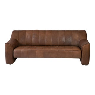 De Sede Buffalo Leather Sofa For Sale