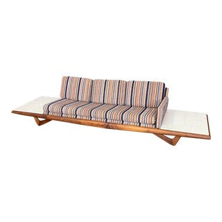 Long Platform Sofa Designed by Adrian Pearsall for Craft Associates For Sale