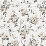 Sample - Schumacher x Veere Grenney Betty Wallpaper in Charcoal