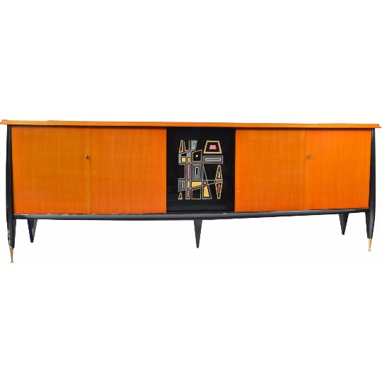 French Mid-Century Modern Sideboard - Image 1 of 5