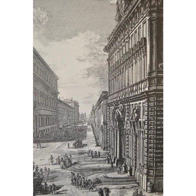 Mid 20th Century Piranesi Print by Sidney Z Lucas C.1950 For Sale - Image 5 of 8
