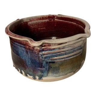 Ira Jon Burhans Pottery Bowl For Sale