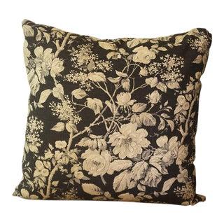 Ralph Lauren Floral Linen Pillow Cover