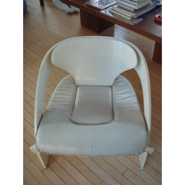 Mid-Century Modern Joe Colombo Bent Plywood Chairs - A Pair For Sale - Image 3 of 7