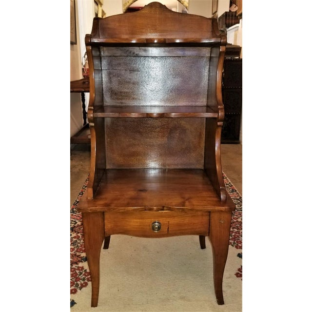 Late 18th Century 18th Century French Country Cherrywood Side Table or Open Case For Sale - Image 5 of 11