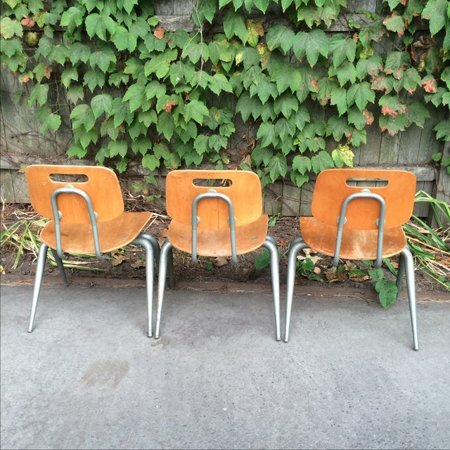 Brunswick Plywood Children's Chairs - Set of 3 For Sale - Image 5 of 7