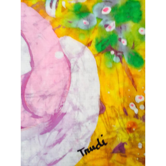 Trudi Fletcher Batik Painting For Sale - Image 5 of 5