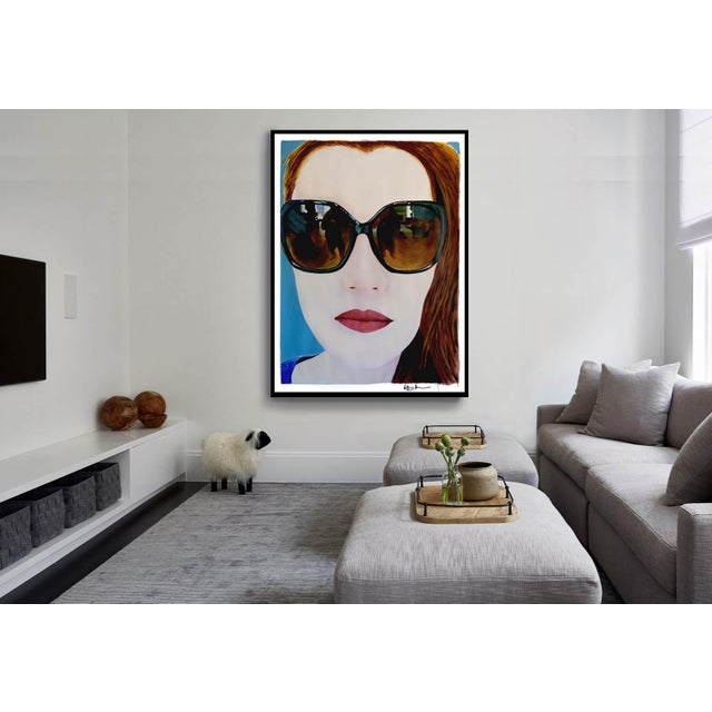 """""""Portrait of Claire"""" Painting by Geoff Greene For Sale - Image 10 of 11"""