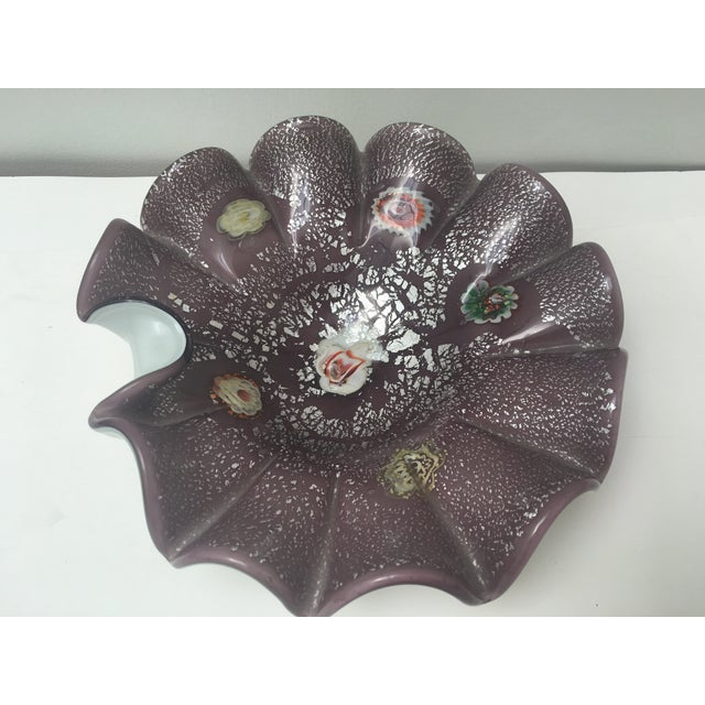 Italian Art Glass Low Bowl - Image 2 of 6