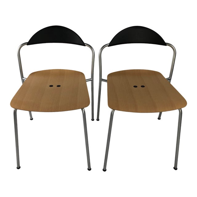 Knoll Vicosolo Chairs - a Pair For Sale