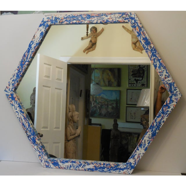 Artistic Six Sided Mirror - Image 9 of 11