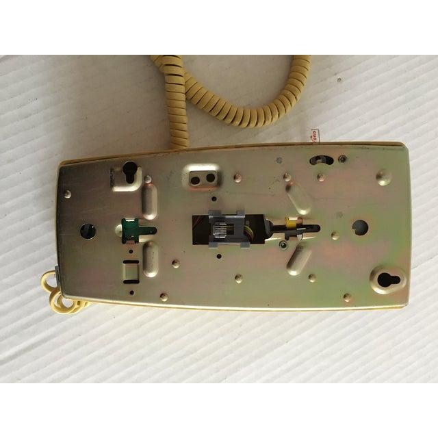 Vintage Yellow Wall Mount Telephone - Image 6 of 6