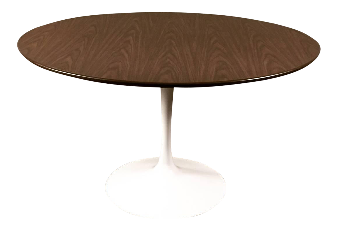 Burke Mid Century Modern Tulip Based Dining Table