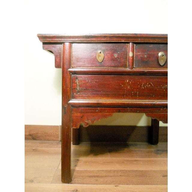 Antique Chinese Ming Altar Cabinet - Image 4 of 9