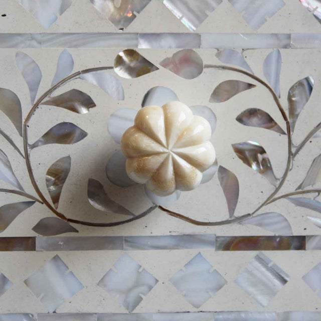 Mother of Pearl Inlay Dresser For Sale In Los Angeles - Image 6 of 6
