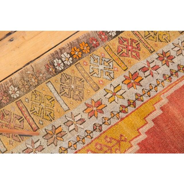 """1920s Vintage Turkish Prayer Rug - 3'8"""" x 5'2"""" For Sale - Image 5 of 13"""