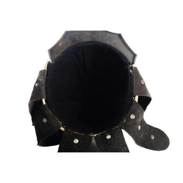 Chinese Bronze Warrior Helmet For Sale - Image 9 of 9