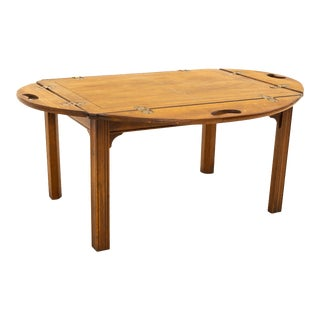 Baker Mid Century Side End Table For Sale