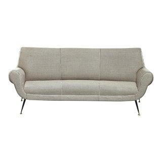 Italian Mid Century Sofa or Settee by Gigi Radice for Minotti For Sale