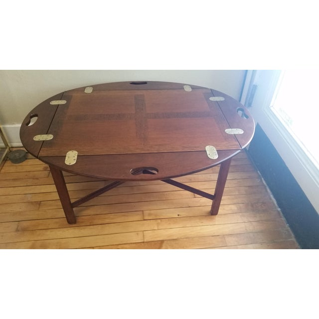Vintage Mahogany Butler's Table - Image 10 of 10