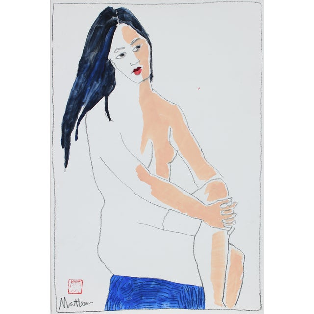 1999 Nude Figure Painting by Rip Matteson - Image 2 of 3