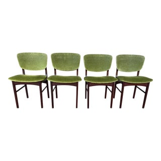 Danish Teak Dining Chairs - Set of 4 For Sale