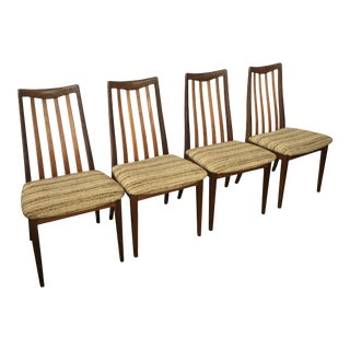 1960s Vintage Teak G Plan Dining Chairs - Set of 4 For Sale