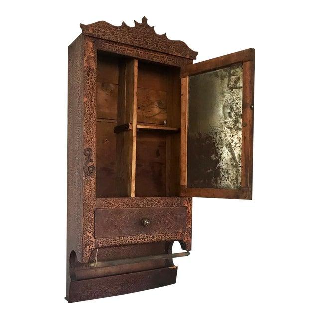 Antique Wooden Spice Cabinet - Antique Wooden Spice Cabinet Chairish