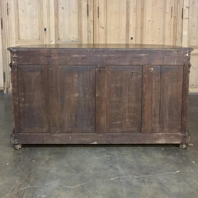 19th Century French Napoleon III Period Walnut Buffet For Sale - Image 4 of 13