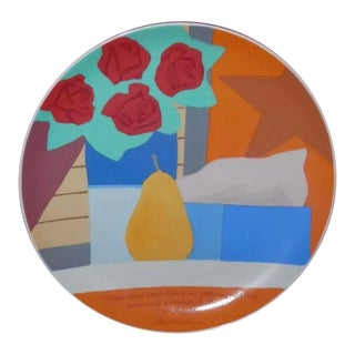 Tom Wesselmann X Rosenthal Studio Line Limited Edition Numbered Artist Plate For Sale
