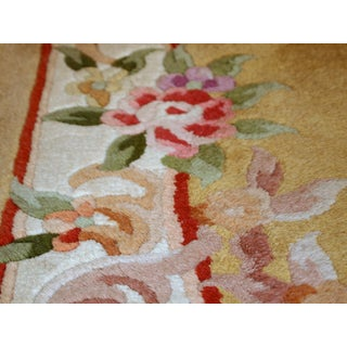 1970s, Handmade Vintage Art Deco Chinese Runner 2.3' X 9.9' Preview