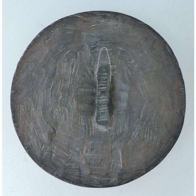 Wood Mid-Century Carved Ceremonial Shield From the Bamun People of West Cameroon For Sale - Image 7 of 9