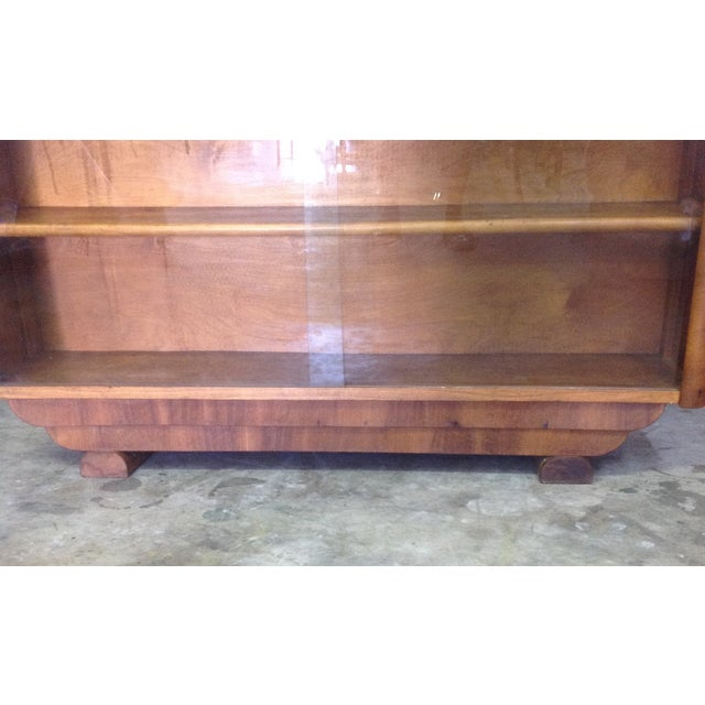Art Deco Style Wooden Bar Cabinet - Image 9 of 11