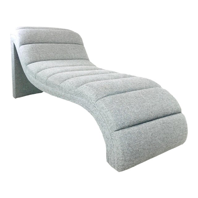 Chaise Lounge in the Style of Kagan For Sale