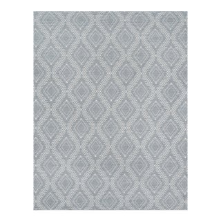 Erin Gates by Momeni Easton Pleasant Grey Indoor/Outdoor Hand Woven Area Rug - 7′6″ × 9′6″ For Sale