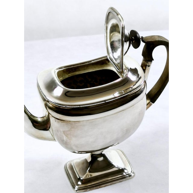 Metal 1820-1830 Sheffield Plate George IV Coffee Pot For Sale - Image 7 of 10