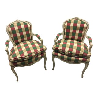 Mid 19th Century Antique French Chairs- A Pair For Sale