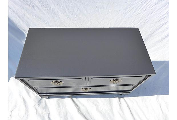 Davis Cabinet Furniture Asian Style Low Dresser   Image 3 Of 9