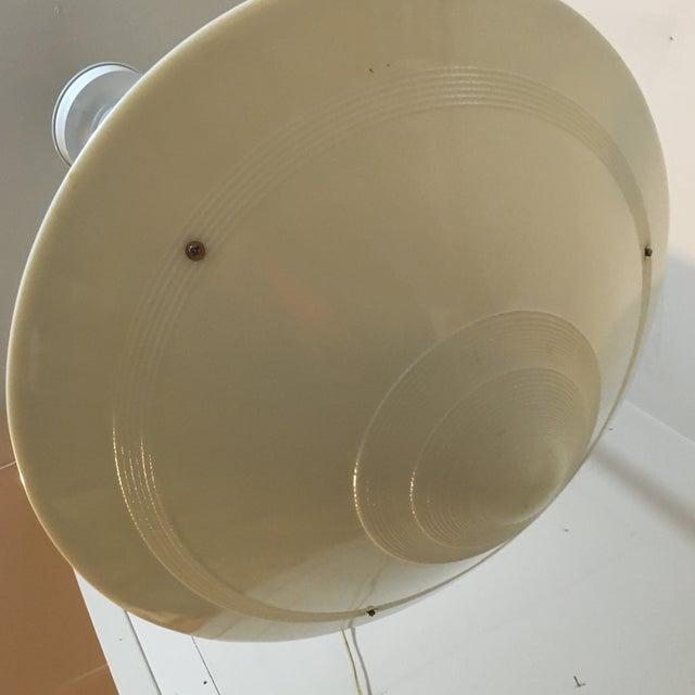 Westinghouse Milk Glass Industrial Pendant Light - Image 5 of 8
