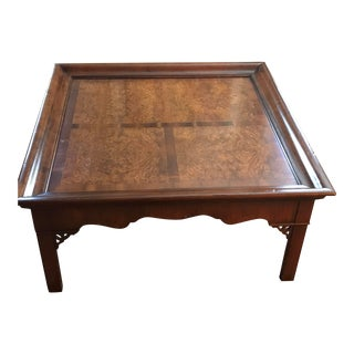 20th Century Inlaid Coffee Table For Sale