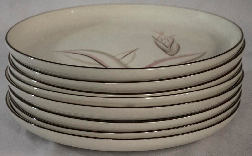 Vintage \ Dragon Flower\  Winfield Dinner Plates - Set of 8 - Image ...  sc 1 st  Chairish & Vintage \
