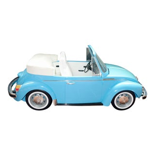 1990s Scale Volkswagen Cabriolet Classic Model Car 36-Inches Long For Sale